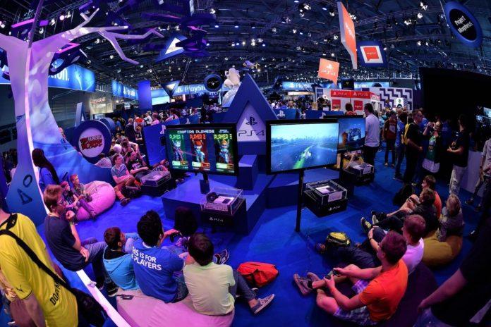 Gamescom exhibition